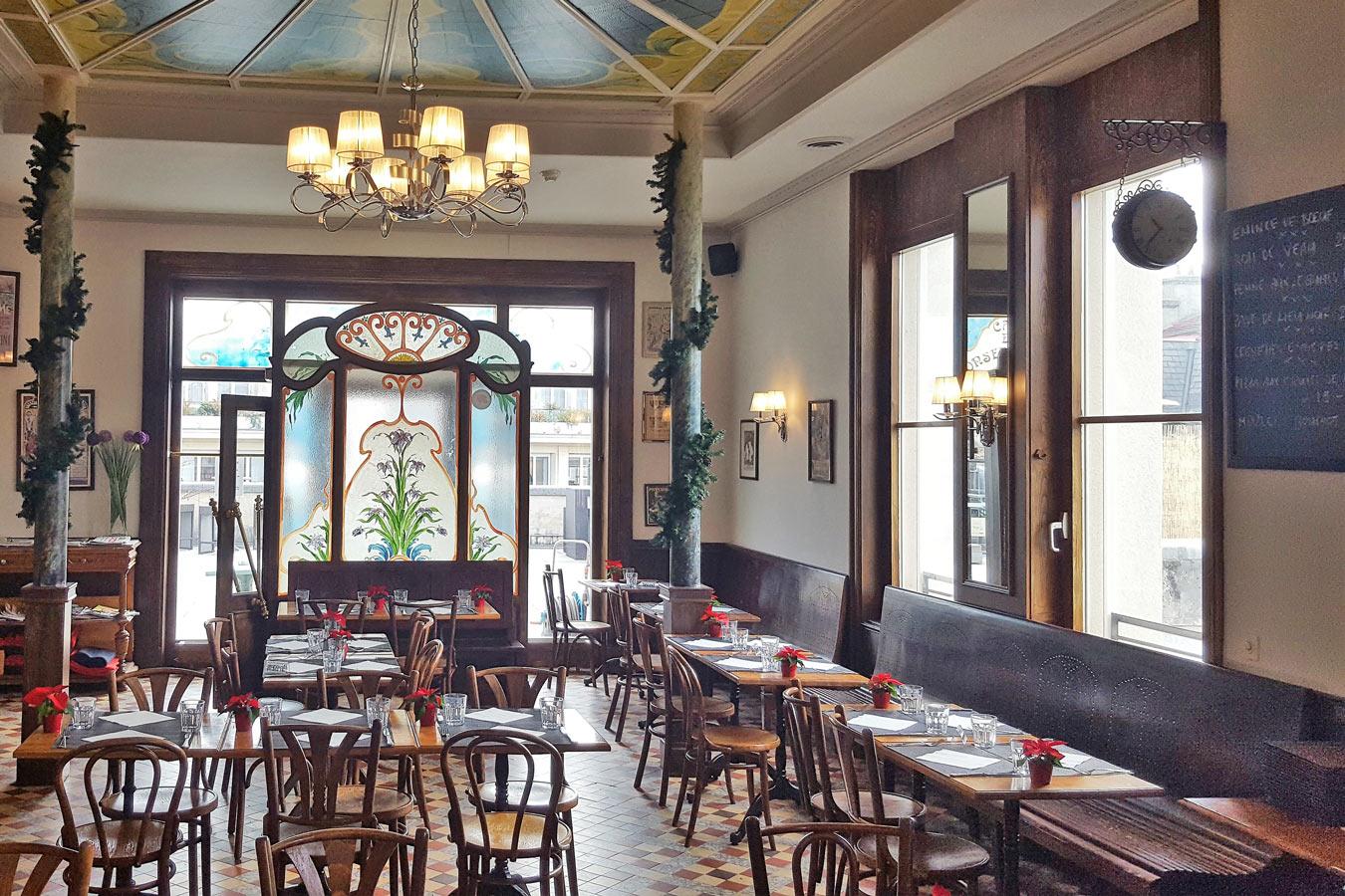 Café Mozart - Brasserie parisienne au centre de Lausanne